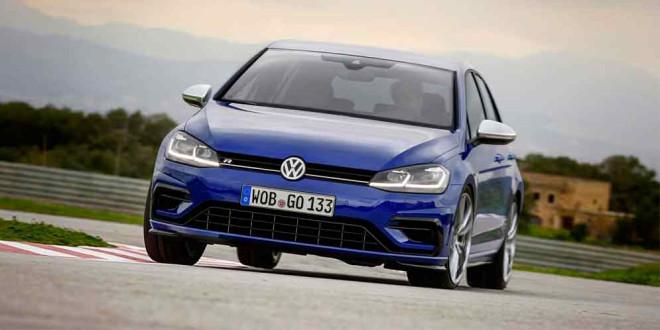 VW Golf R Performance Pack: выхлоп Akrapovik и лёгкие тормоза