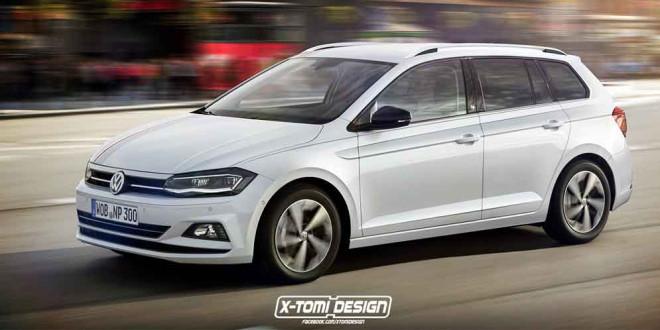 Универсал Volkswagen Polo Variant по версии X-Tomi Design