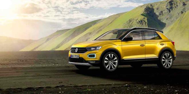 Новый Volkswagen T-Roc уже доступен для заказа в Германии