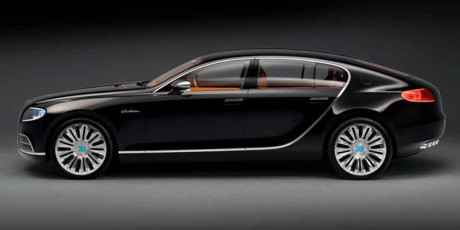 Преемник Bugatti Chiron может стать 4-дверным в 2024 году
