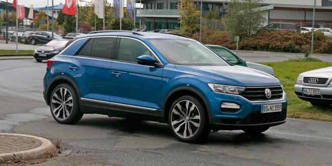 Volkswagen T-Roc R замечен на дорожных испытаниях