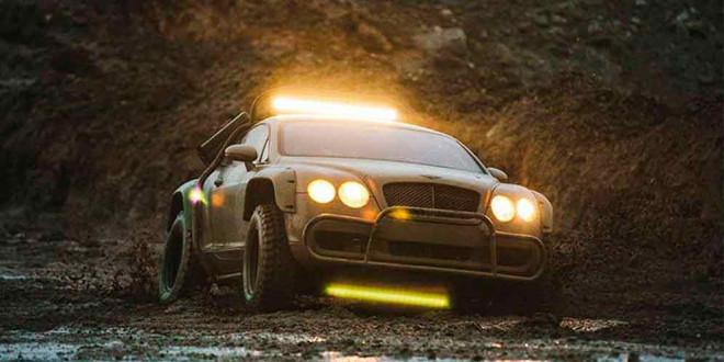 Единственный в мире внедорожник Bentley Continental GT продают
