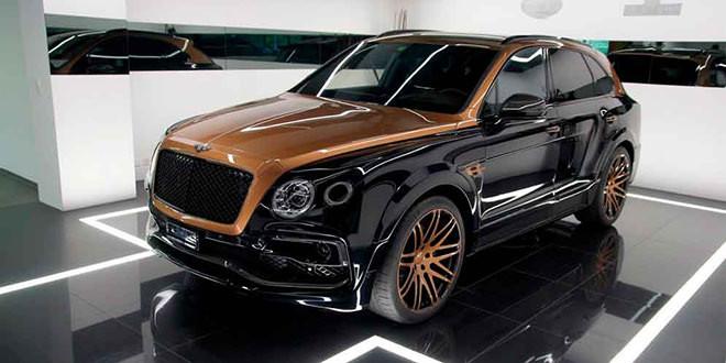 Любительский тюнинг Bentley Bentayga в эксклюзивной окраске