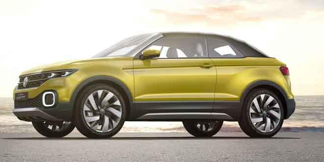 Кроссовер T-Cross из Volkswagen Polo выпустят в 2018 году