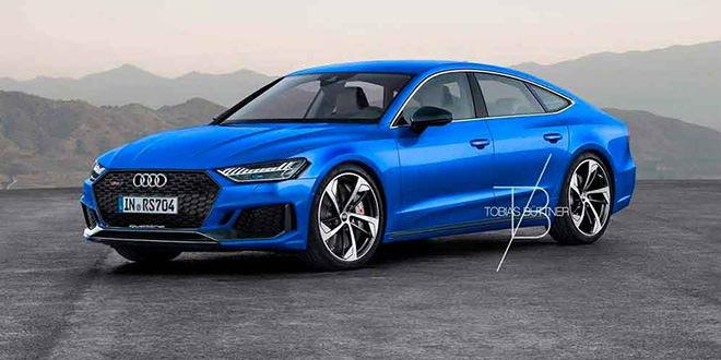 Рендер 2019 Audi RS7, неофициально