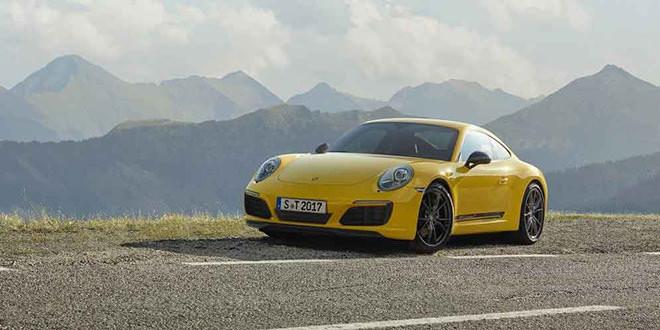Представлена новая Porsche 911 Carrera T