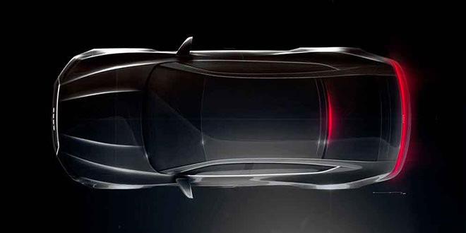 Последний скетч новой Audi A7 перед премьерой