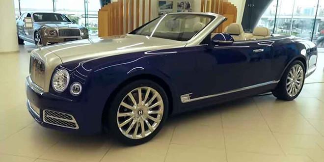 В Дубае показали новый кабриолет Bentley Grand Convertible