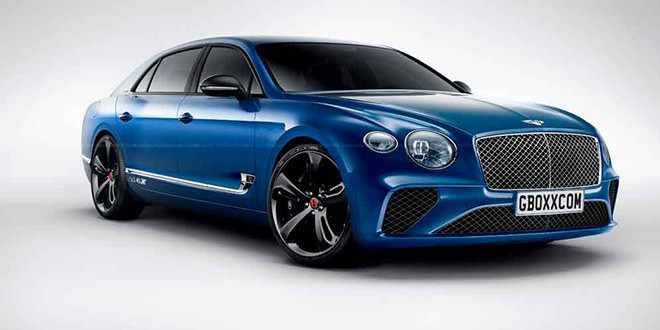 Дизайн нового Bentley Flying Spur по мотивам Continental GT