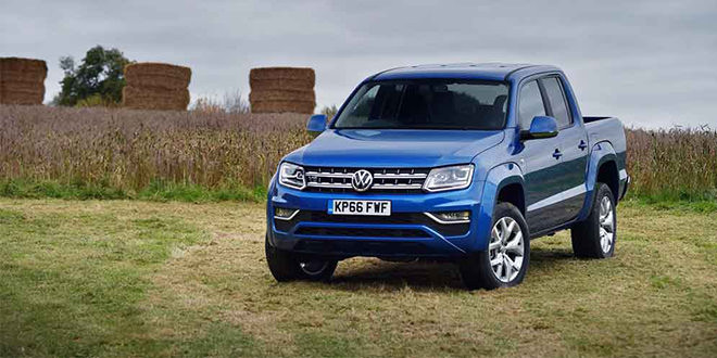 В Британии запущен самый дешёвый Volkswagen Amarok