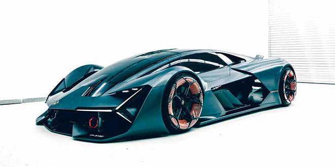 Суперкар будущего Lamborghini Terzo Millennio официально