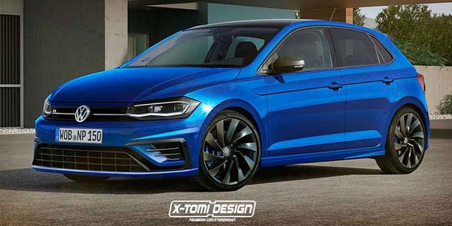 Фантазии на тему Volkswagen Polo R следующего поколения