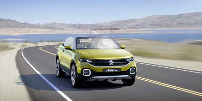 Кроссовер Volkswagen T-Cross перейдёт в серию в 2018 году
