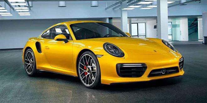 В гамму Porsche 911 Turbo добавили жёлтый цвет за $11 580