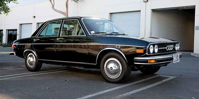 Коллекционная Audi 100 LS 1974 года продается на аукционе