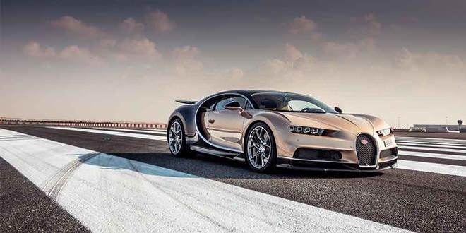 Компания Bugatti доставила 70 экземпляров Chiron за год