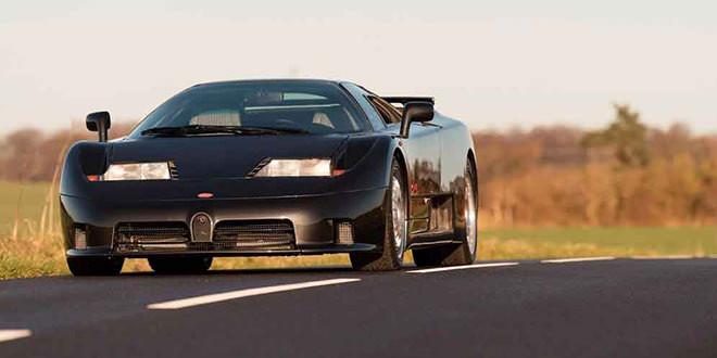 Bugatti EB110 GT 1993 года уйдет с молотка за $950 000