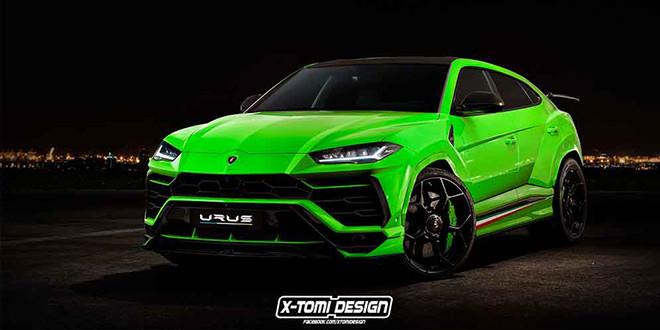 Lamborghini Urus Performante неофициально от X-Tomi Design