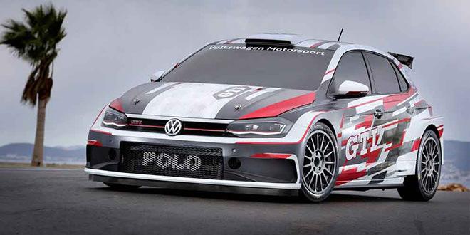 Вышел новый ралли-кар Volkswagen Polo GTI R5