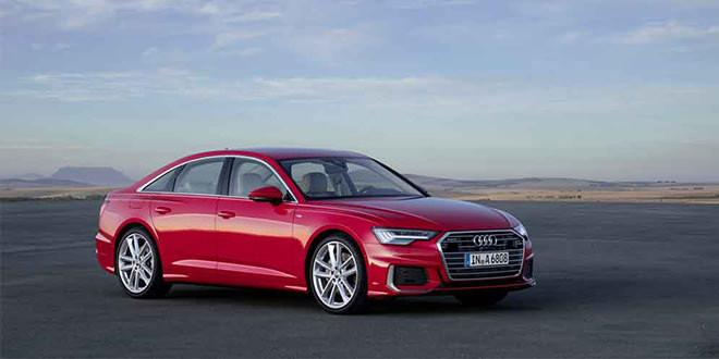 Новое поколение Audi A6 официально