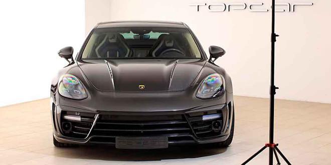 Гибрид Porsche Panamera Stinger GTR от TopCar едет в Женеву