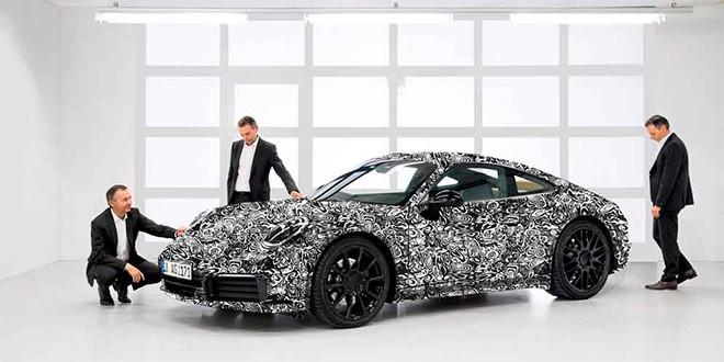 Официальный анонс Porsche 911 следующего поколения