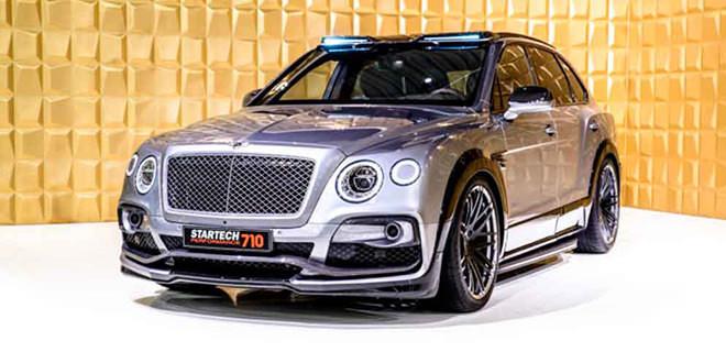 Новый тюнинг Startech — супер-внедорожник Bentley Bentayga
