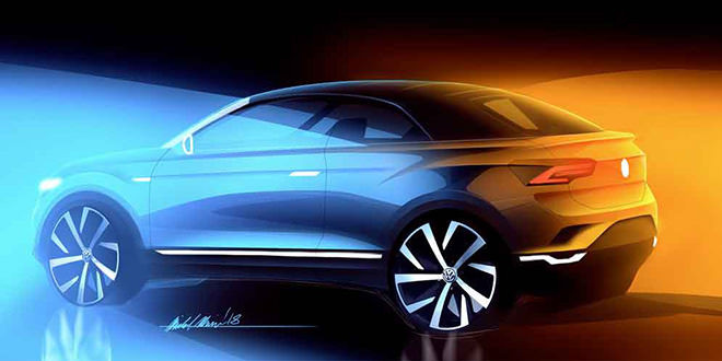 Трёхдверный VW T-Roc Convertible утверждён на 2020 год