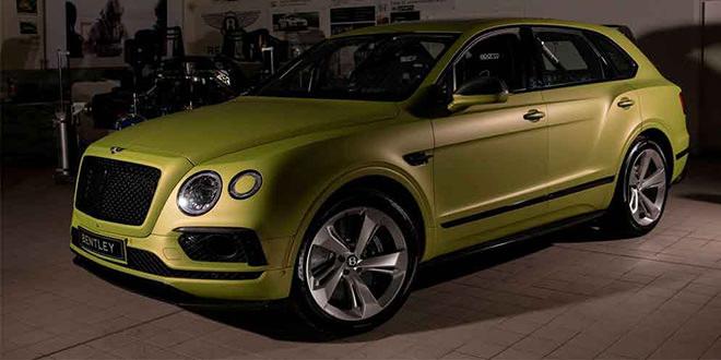 Показан Bentley Bentayga, который покорит Пайкс-Пик