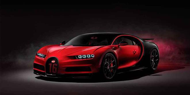 Bugatti Chiron Sport не будет ставить рекорд скорости