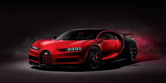 Самый быстрый Bugatti Chiron Sport показали в Женеве