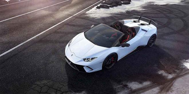 Представлена новая Lamborghini Huracan Performante Spyder