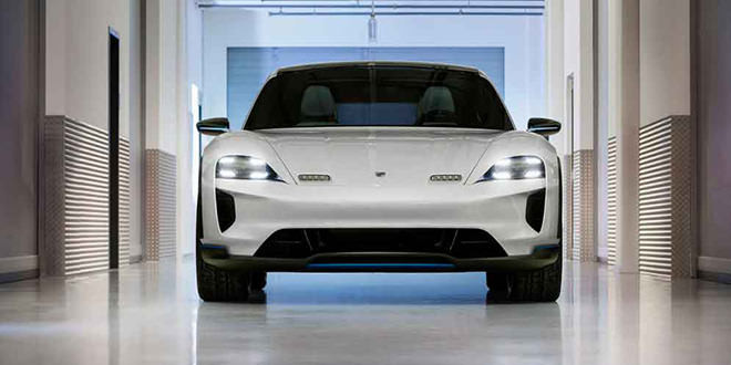 Porsche Mission E Cross Turismo — неожиданный сюрприз Женевы