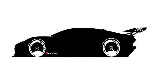 Первый тизер Audi E-Tron Vision Gran Turismo. Премьера 9 апреля