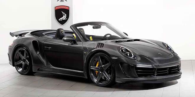 В TopCar сделали тюнинг Porsche 911 Stinger GTR Carbon Edition