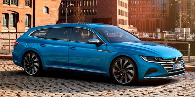 Универсал VW Arteon Shooting Brake одобрен в производство