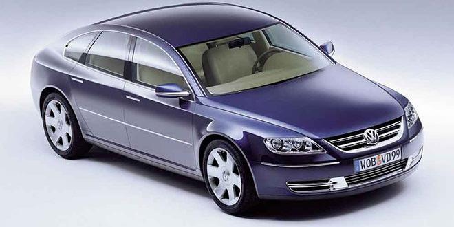 VW Concept D 1999 года — предвестник серийного Phaeton