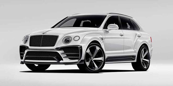 Larte Design готовит красивый обвес для Bentley Bentayga