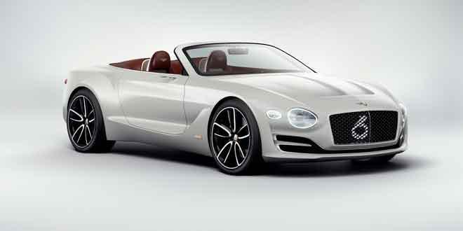 Первый электромобиль Bentley будет спорткар