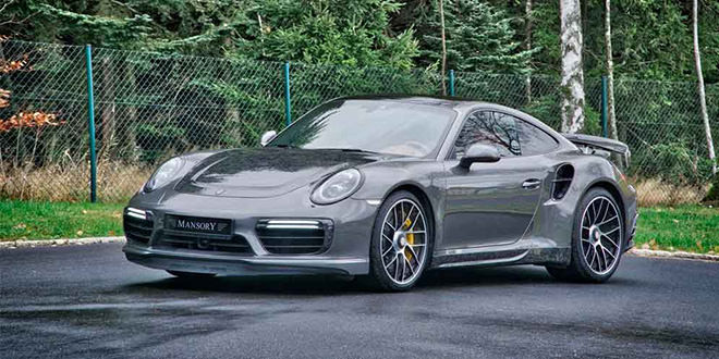 Mansory сделал карбоновый тюнинг Porsche 911