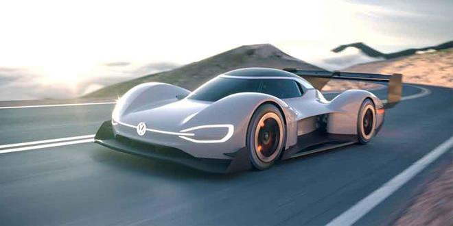 Volkswagen ID R Pikes Peak готовится к показу во Франции
