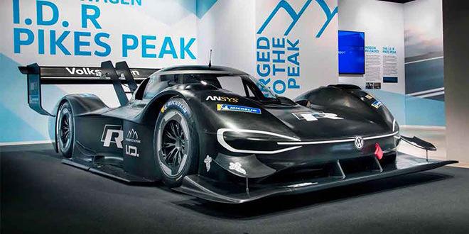 Volkswagen рассекретил гоночный электромобиль в карбоне