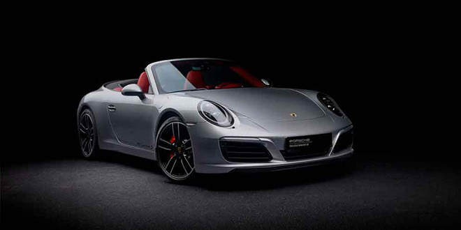 В Porsche Exclusive сделали особую 911 S Cabrio