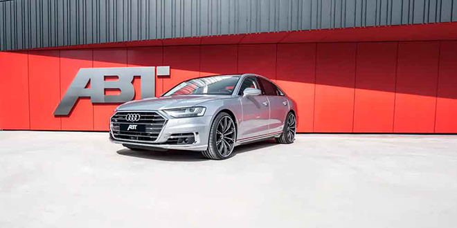 Новая Audi A8 Diesel получила тюнинг от ABT Sportsline