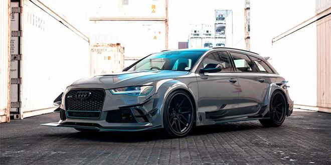 Универсал Audi RS6 в обвесе кузова от Race! из ЮАР