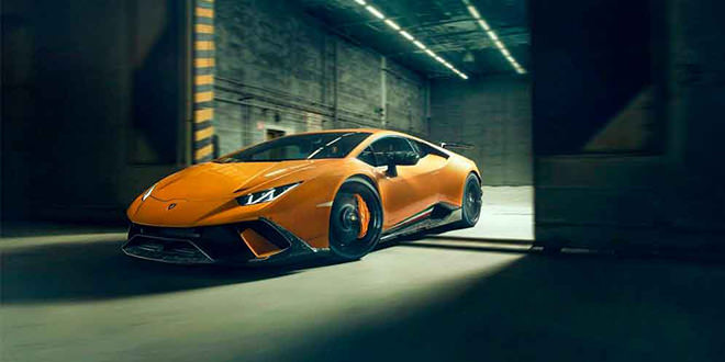 Novitec добавил карбона Lamborghini Huracan Performante