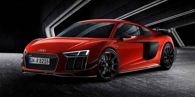 Audi R8 V10 Plus выходит в новой спецверсии. Только 44 шт.