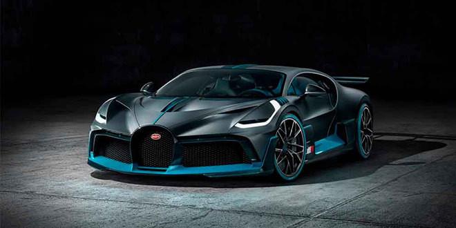 Гиперкар Bugatti Divo представлен в Пеббл Бич