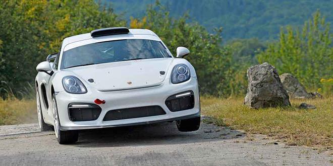 Представлен Porsche Cayman GT4 Clubsport Rallye Concept