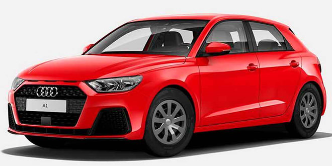 Самая дешёвая Audi A1: без радио, но с колпаками. Цена €21700